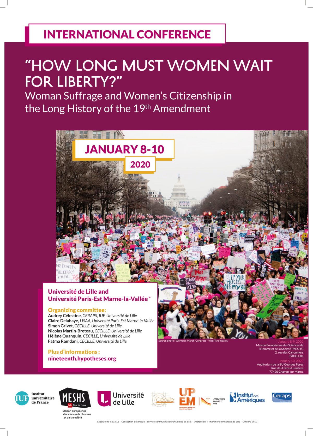 How long must women wait for liberty?